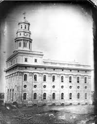 Oldest known photo of temple, 1847