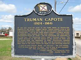 The Signpost that stands at Truman Capote's childhood home.
