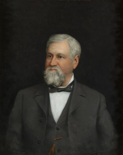 This portrait of Lee hangs in the Mississippi Hall of Fame