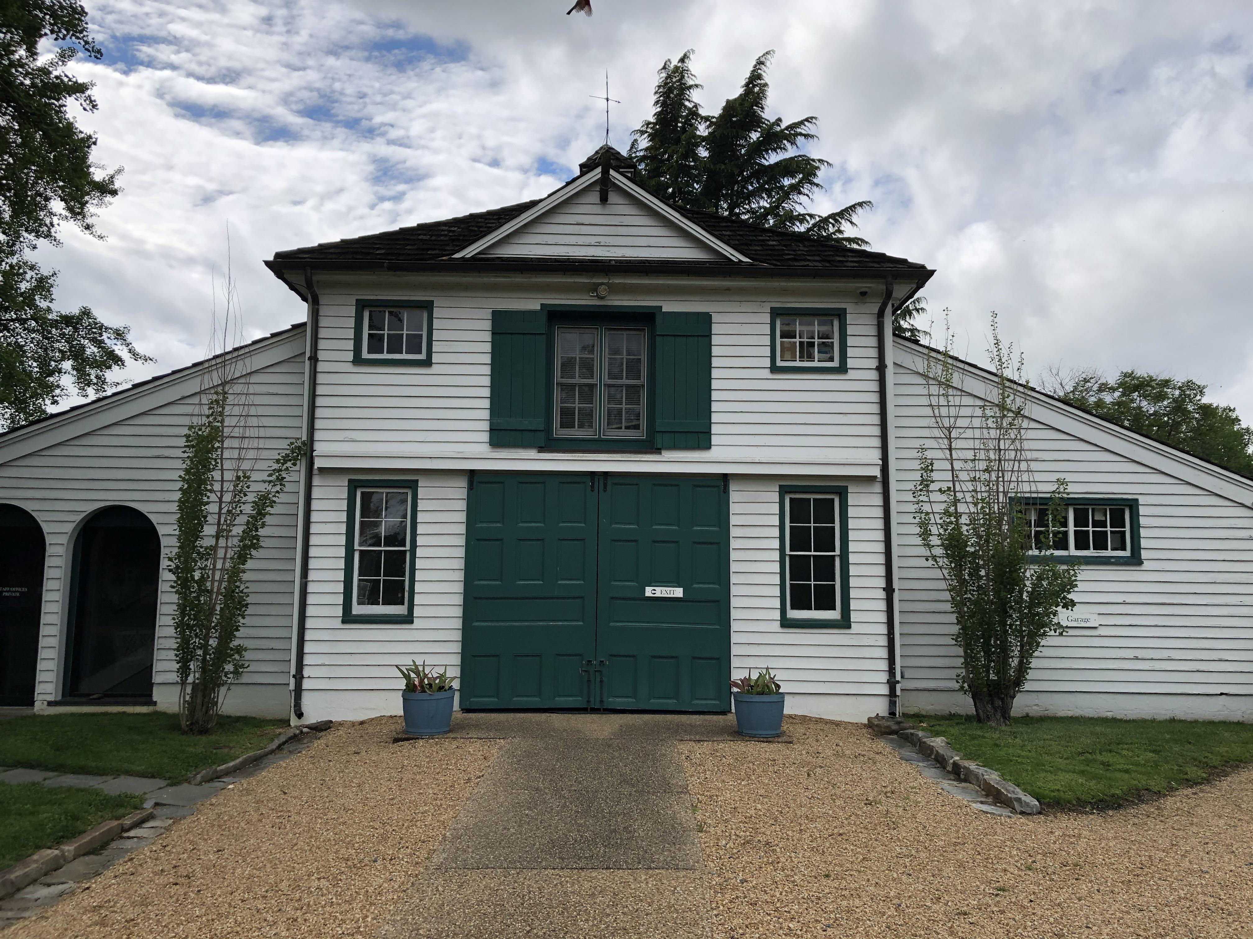 Visitor Center, former barn
