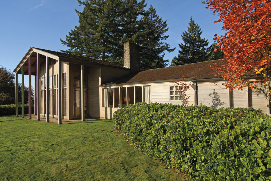Front of the Watzek Home. Photo courtesy of the University of Oregon