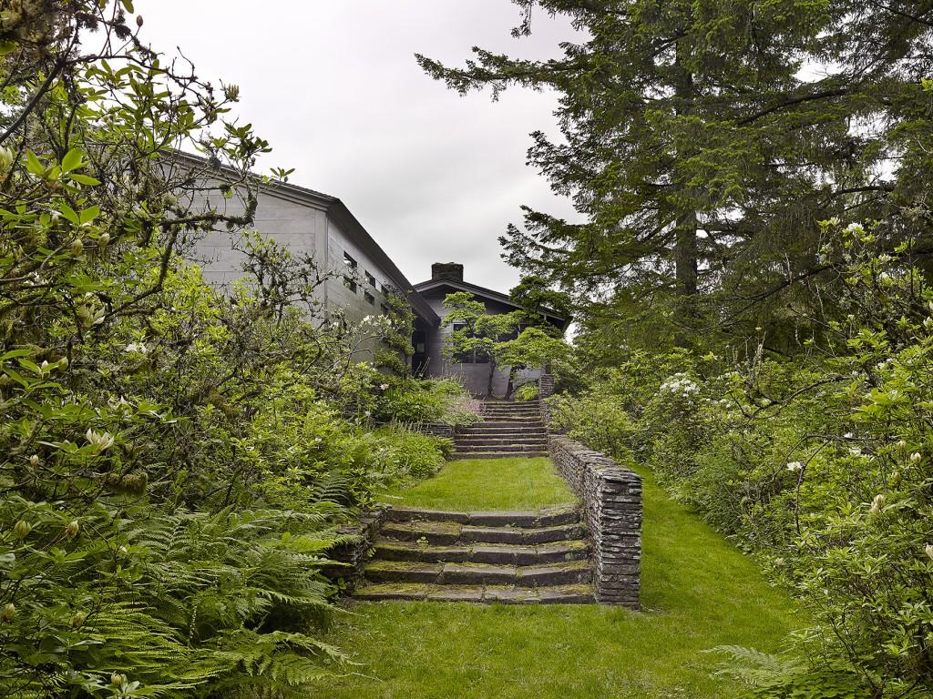Original stone stairway/walkway and garden. Photo courtesy of Jeremy Bittermann