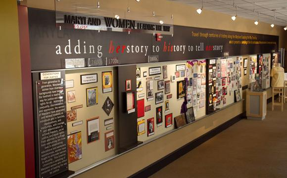 Maryland Women's Heritage Center Interior
