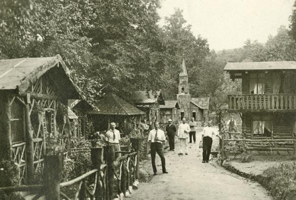 German Internment Village