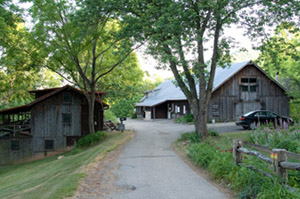 Barns at the Penland School