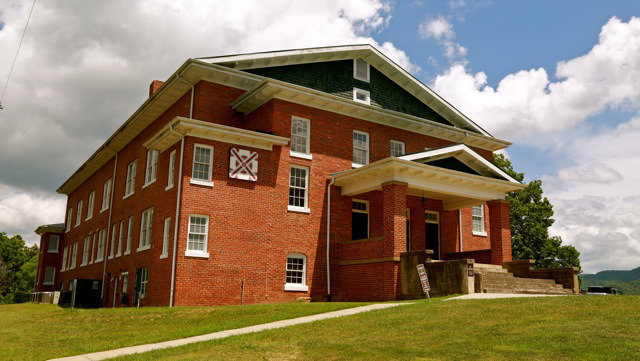 The old Yancey Collegiate Institute building