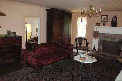 The Caron House parlor