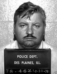 Mug shot of John Wayne Gacy