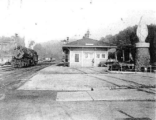 Old Fort Depot in 1940