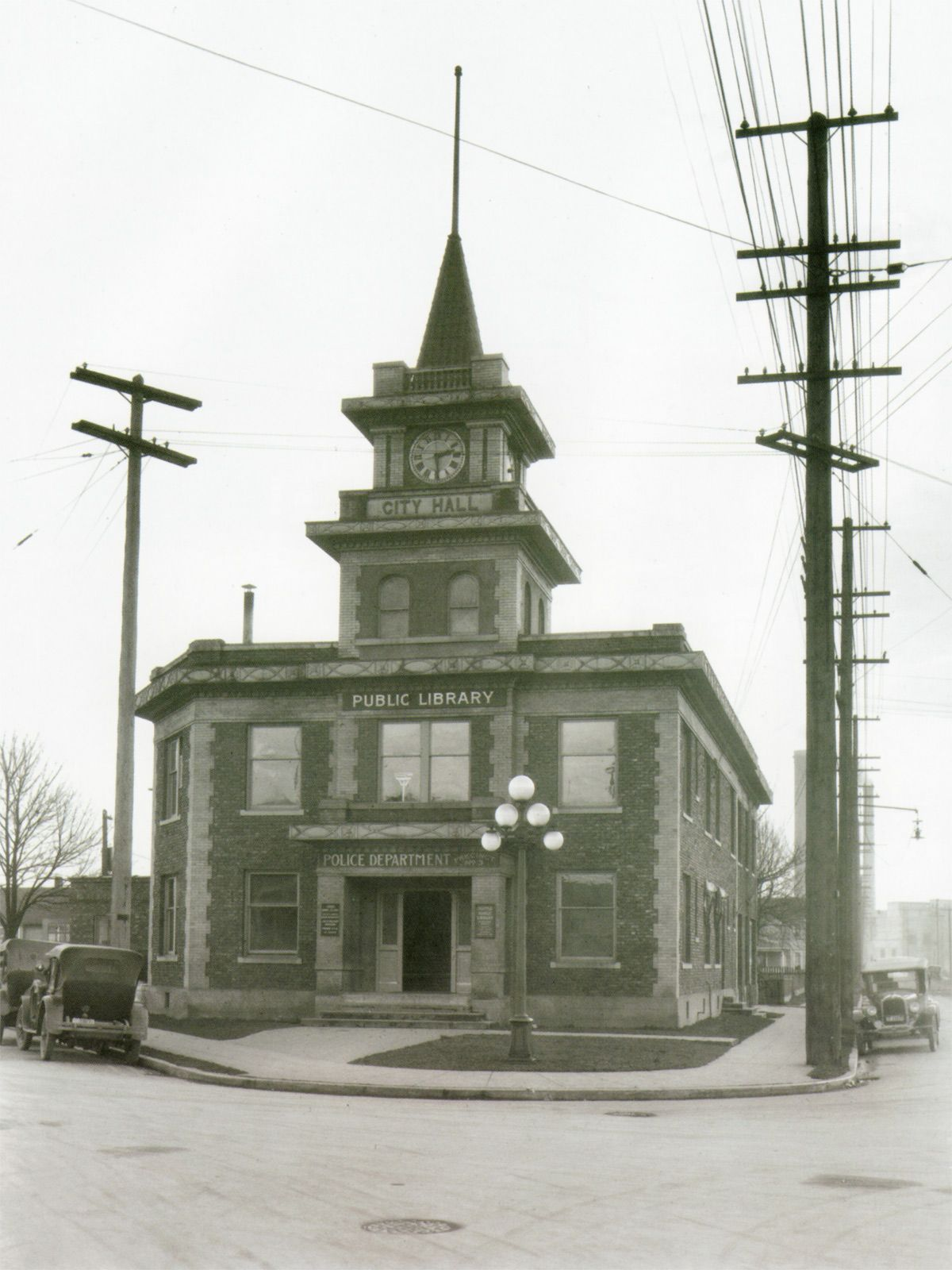 Old Georgetown City Hall in the Mid-1920s