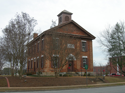 The Lawrenceville Female Seminary was built in 1838 and today houses the Gwinnett History Museum.