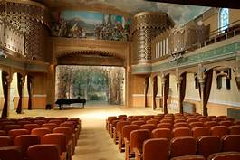 Historical Temple's Performing Arts: The Temple's Jewelry Box Theatre