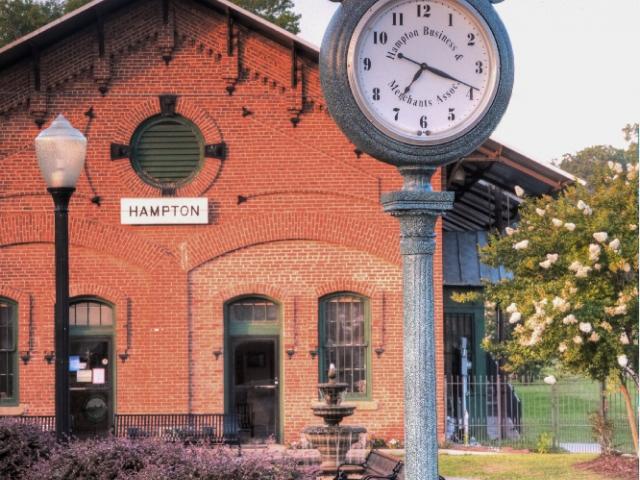 Historic Hampton Depot