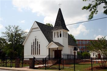 Historic Christ Church & Carriage House in Hapeville, Georgia