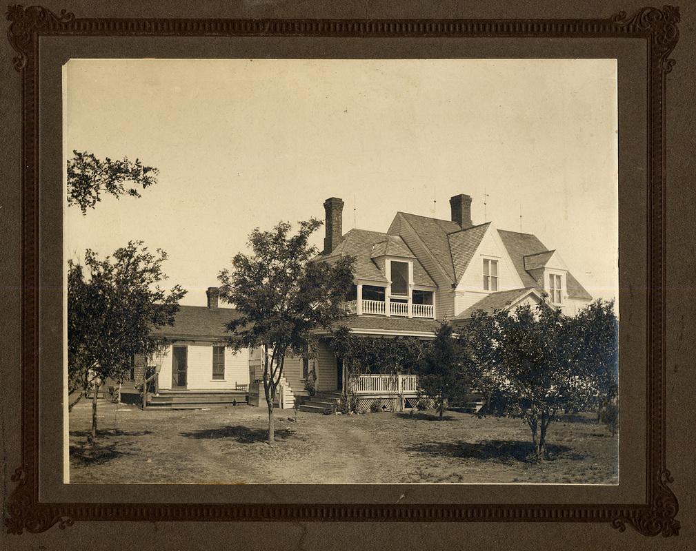 The Goodnight home, circa 1900