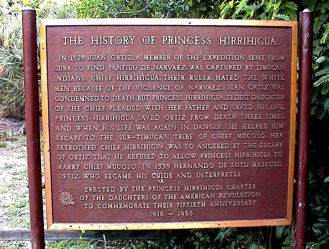 History of Princess Hirrihigua