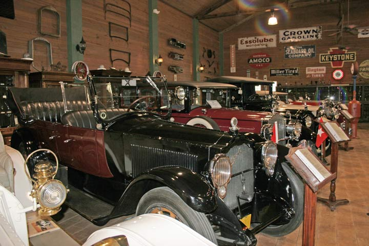 Inside the Fort Lauderdale Antique Car Museum