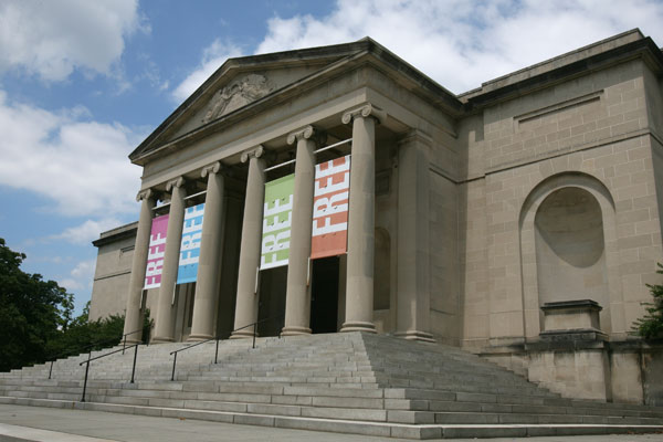 Exterior of the Baltimore Museum of Art