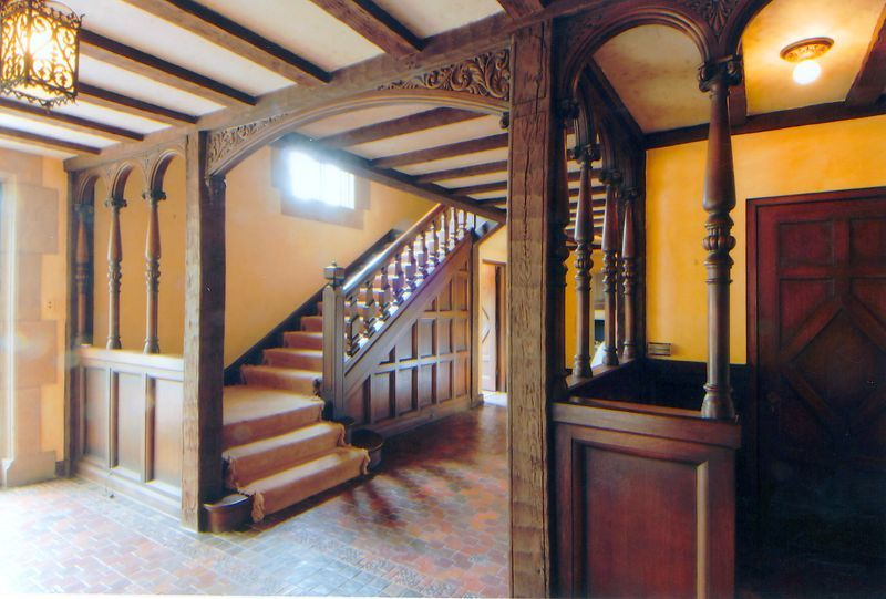 Main entrance staircase