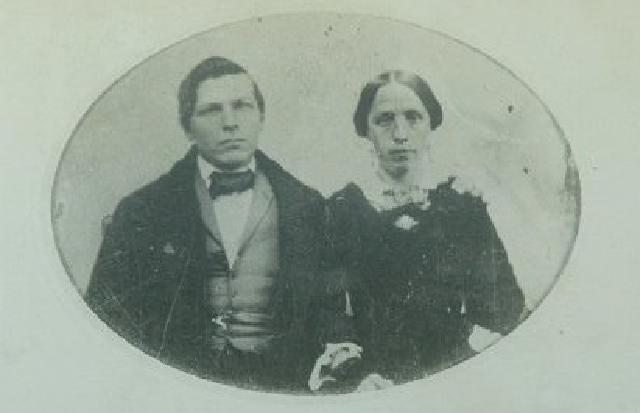 Jacob and Catherine Dietrich.