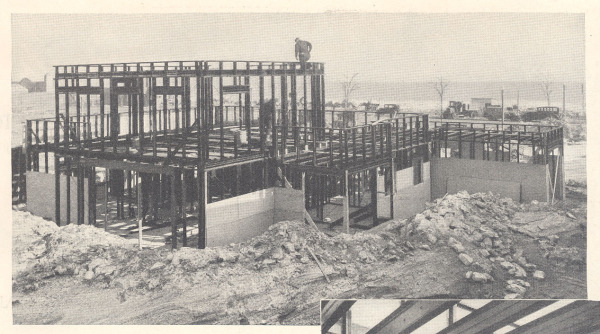 Construction of the demo home