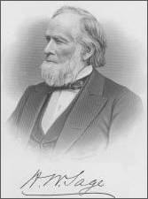 Philanthropist Henry Sage