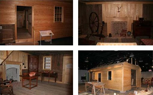 One of the highlights of the museum, this home was built in 1775 and restored using historic methods and tools.