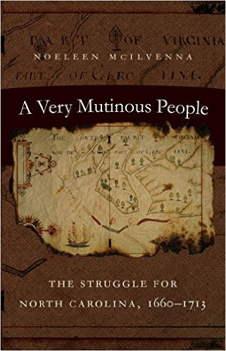 Those interested in the colonial history of the Abermarle will enjoy this book by Noeleen McIlvenna and UNC Press