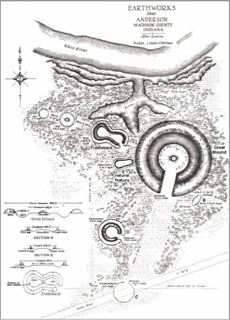 Map of the Mounds
