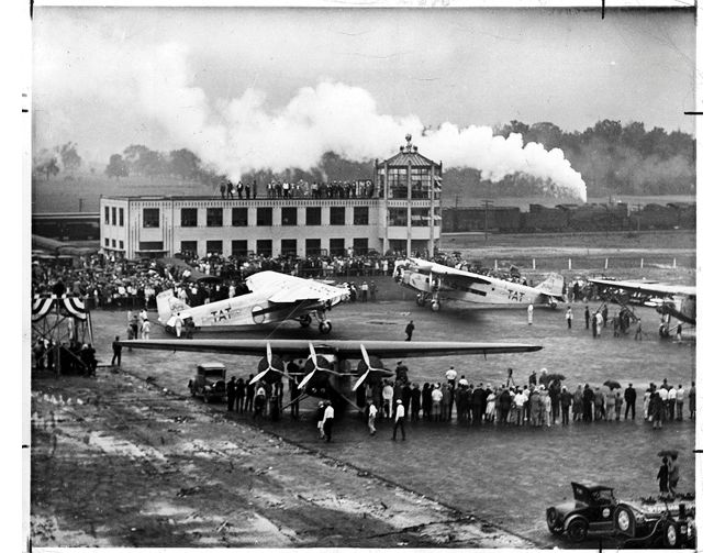 Port Columbus terminal opened July 8, 1929