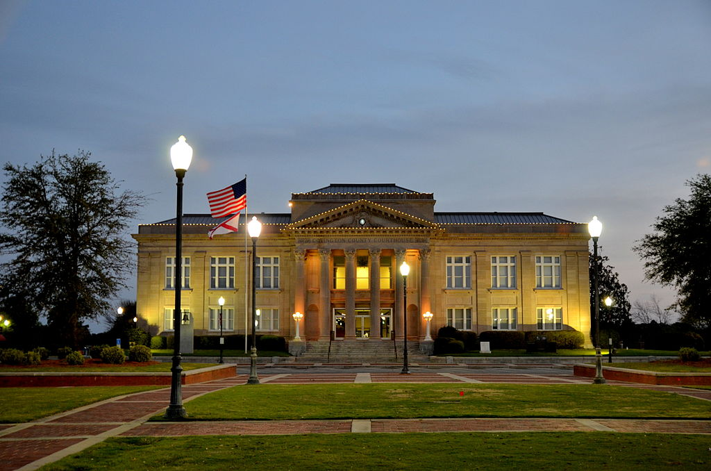 Covington County Courthouse and Jail