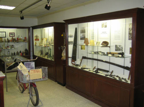 Another view of the various displays and artifacts
