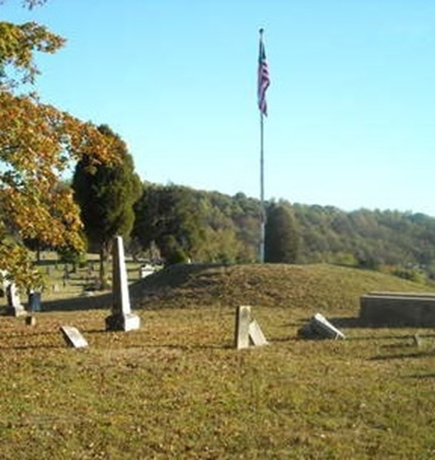 Adena Mound at Teays Hill Cemetery