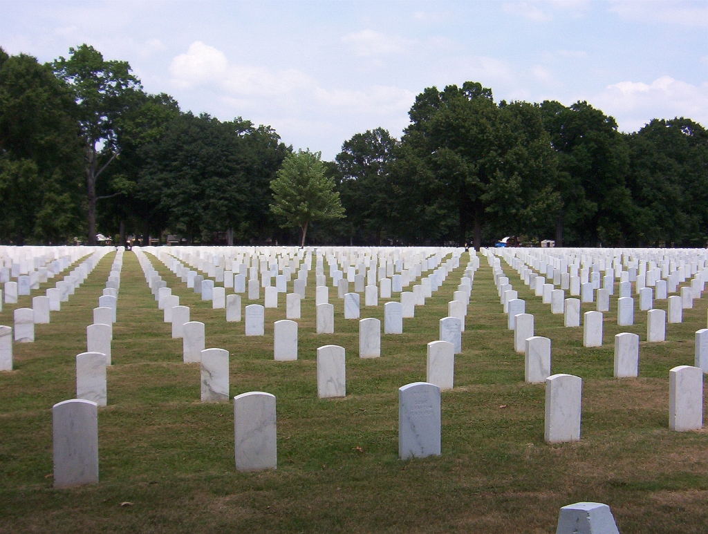 National Cemetery in Memphis is the final resting place of more unknown soldiers than any cemetery in the US beyond Arlington.
