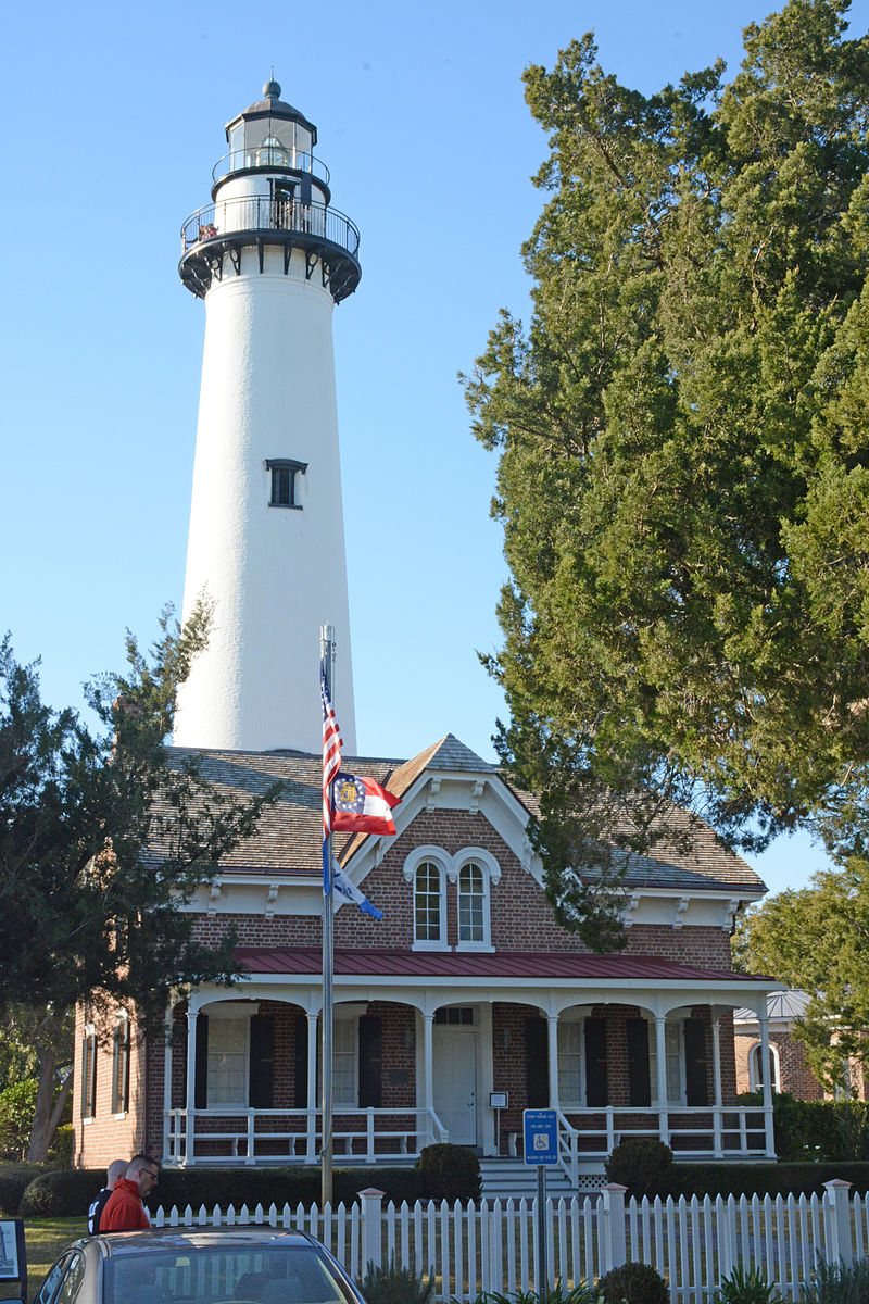 The St. Simons Island Lighthouse