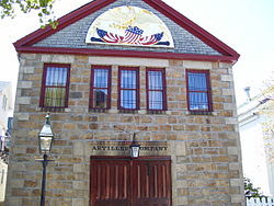 Museum of the Artillery Company of Newport, Rhode Island
