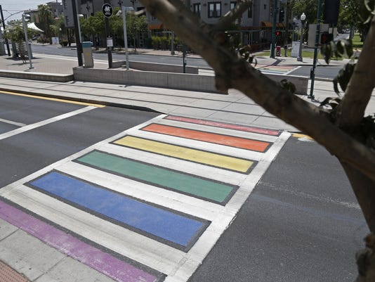 Downtown Phoenix, Rainbow Crosswalk
