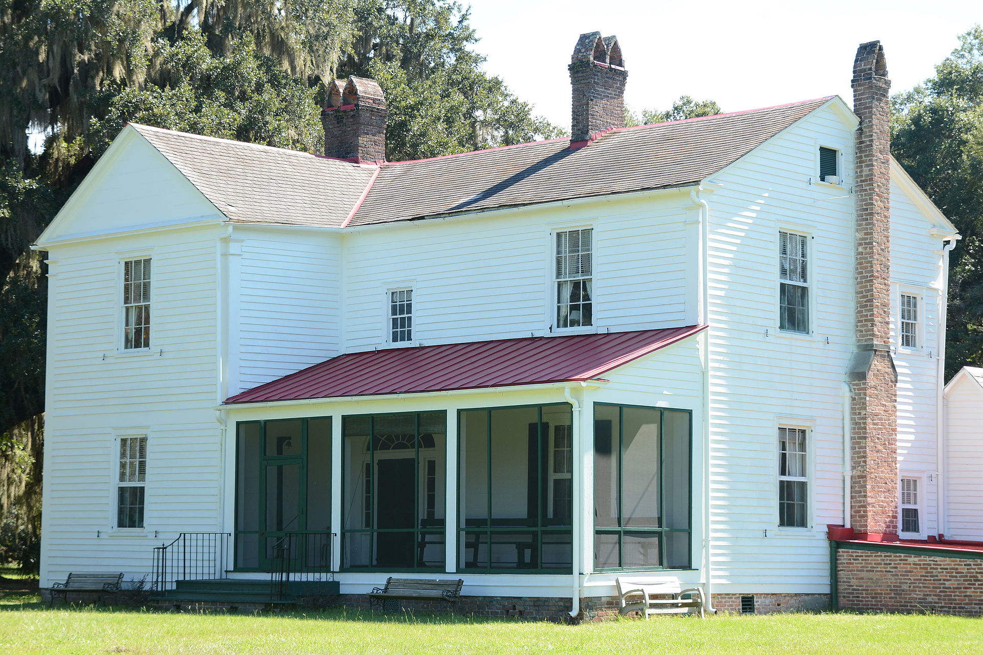 The Hofwyl-Broadfield Plantation house