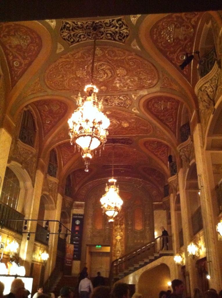 Paramount's impressive lobby.