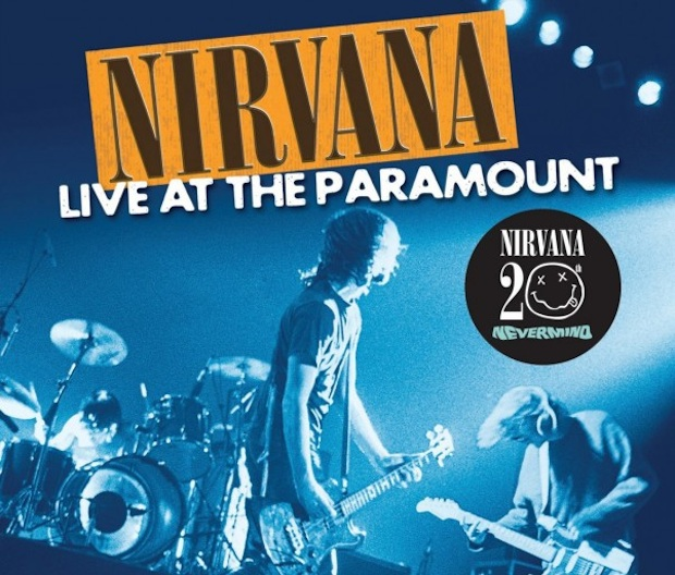 Cover of Nirvana's live album recorded at the Paramount.