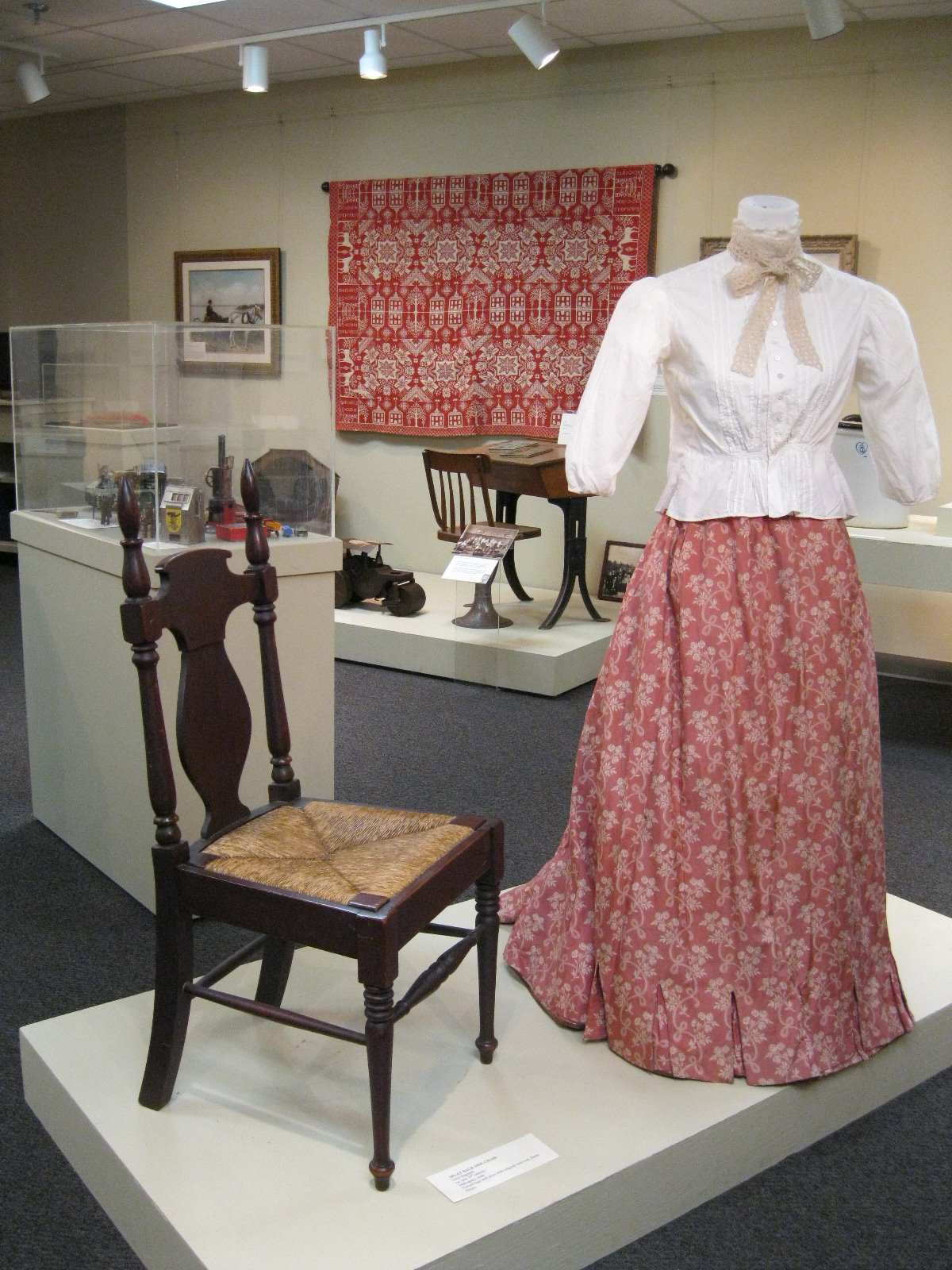 A peak inside the Barrington Preservation Society Museum