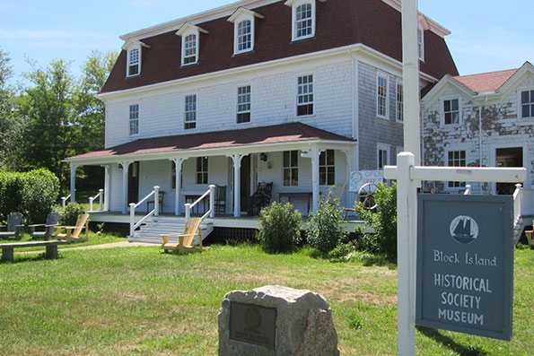 Block Island Historical Society Museum is housed in a 19th century farmhouse.