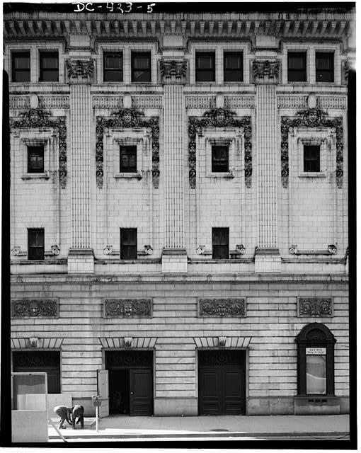 Exterior north façade (detail)