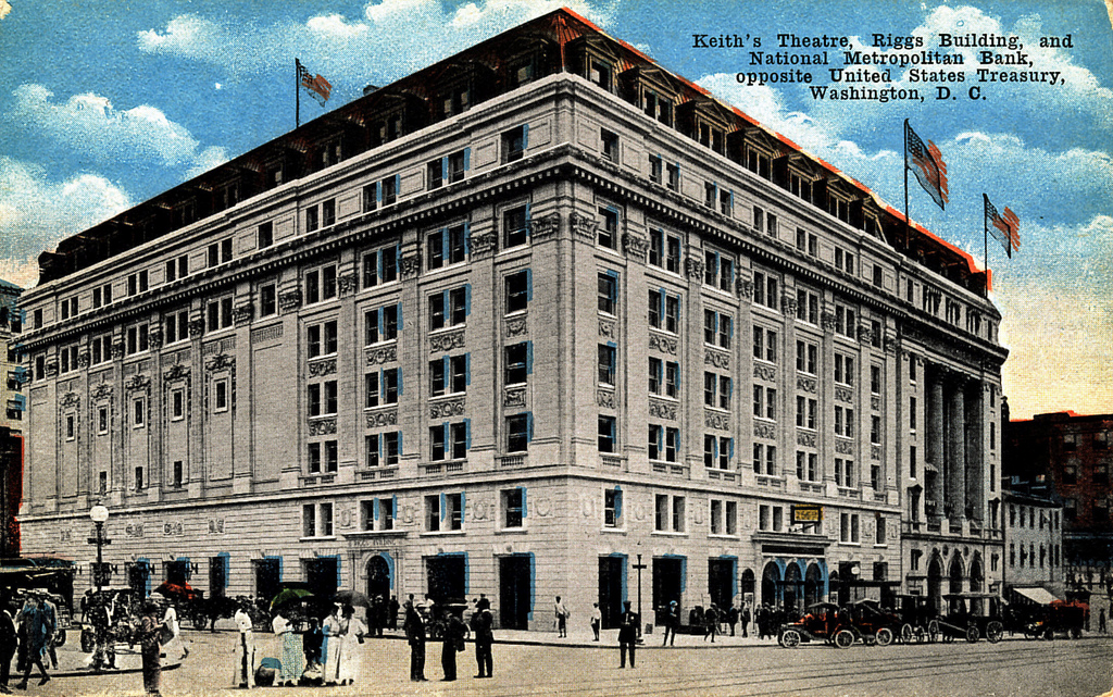 1910s-1920s postcard of the theater