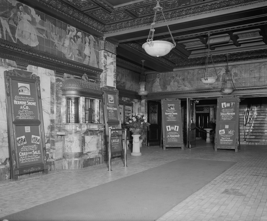 Undated photo of the lobby. Courtesy of the Library of Congress