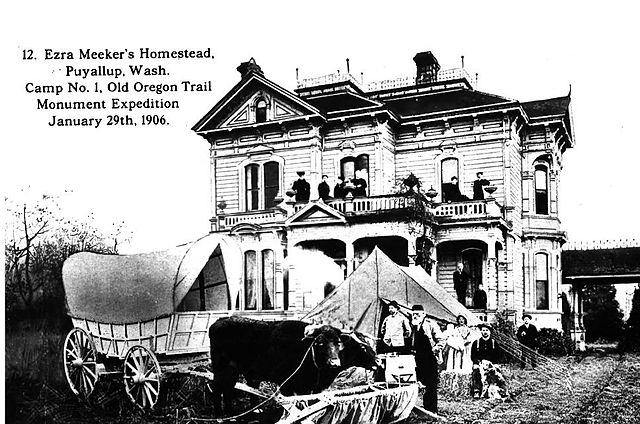 The Meeker Mansion in 1906.