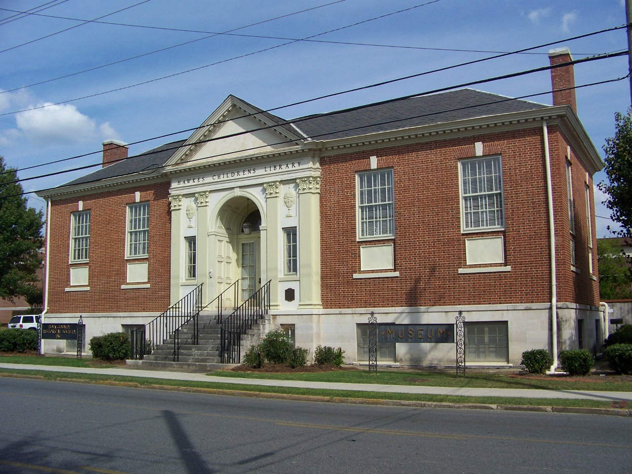 The Polk County Historical Society, formerly the Hawkes Children's Library