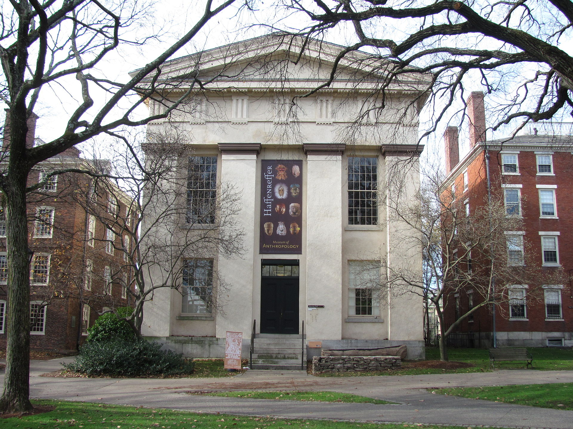 The Haffenreffer Museum of Anthropology's exhibitions are located at Manning Hall on the Brown University campus in Providence, RI.
