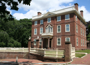 The John Brown House was built in 1788 by its namesake, who was one of the first benefactors to Brown University.