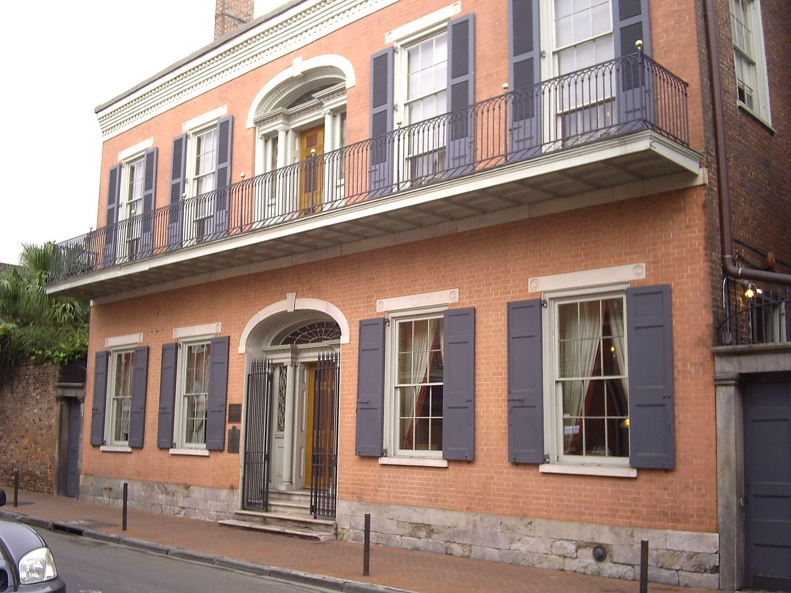 Hermann-Grima House exterior
